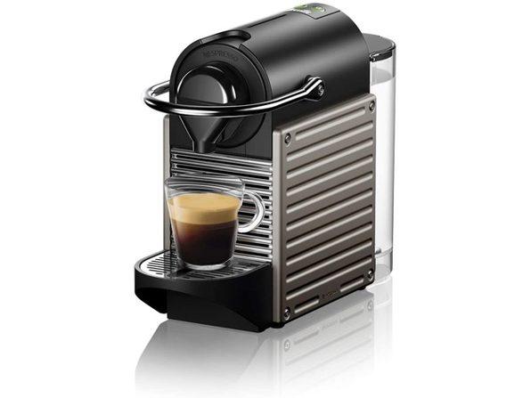 Breville Nespresso Pixie Single-Serve Espresso Machine Electric Titan