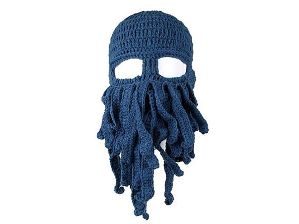 Octopus Hat - Blue - Product Image