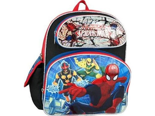 "Marvel Ultimate Spiderman Toddler 12"" Backpack"