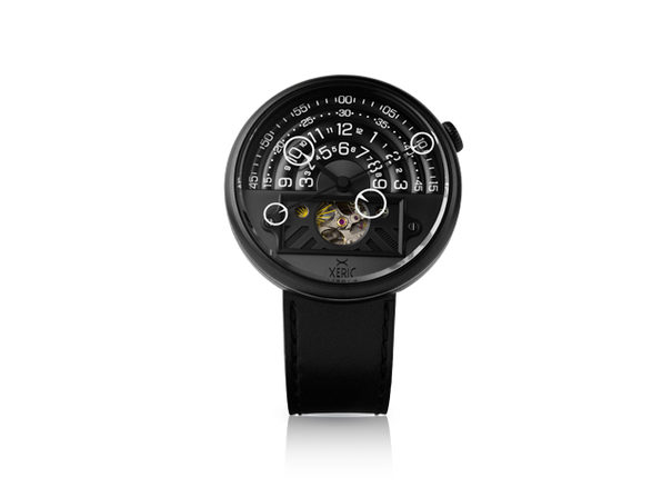 Xeric Halograph II Limited Edition Automatic Watch (All Black)
