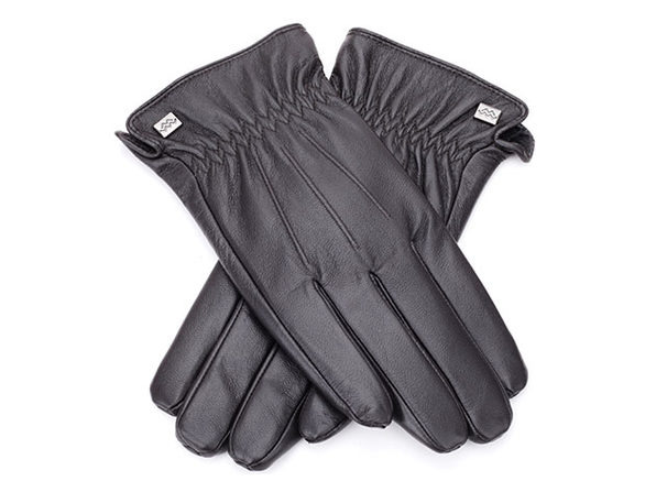 Cold-Weather Leather Gloves (Espresso/XL)