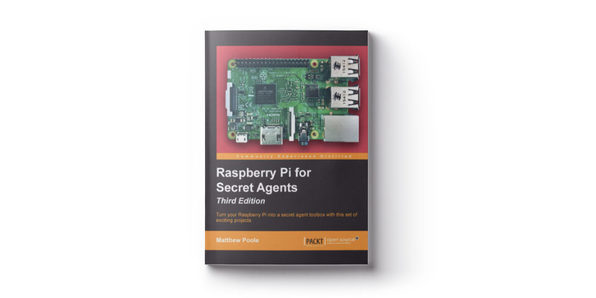 Raspberry Pi for Secret Agents - Product Image