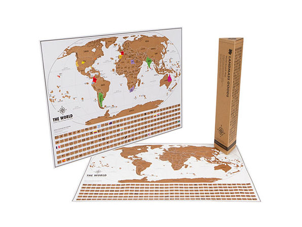World Travel Tracker Scratch Off Maps®