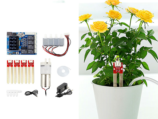 Arduino Automatic Smart Plant Watering Kit 2.0