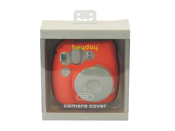 Heyday Silicone Camera Cover for Instax Mini 8/9, Peach (New Open Box) - Product Image