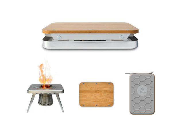 Whip up Better Meals in the Great Outdoors with This Portable Kitchen Set