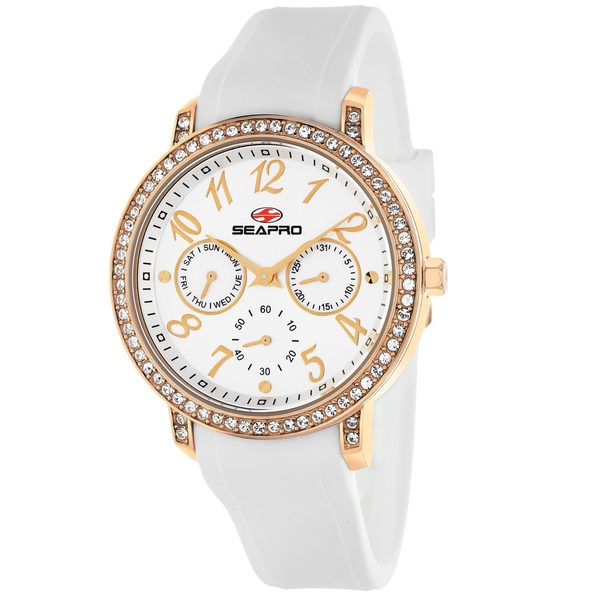Seapro Women's Swell Silver Dial Watch - SP4412