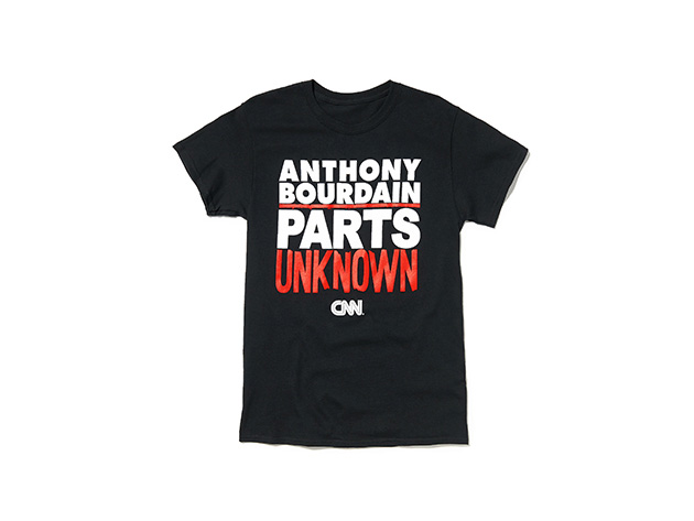 Anthony Bourdain Parts Unknown Tee Stacksocial