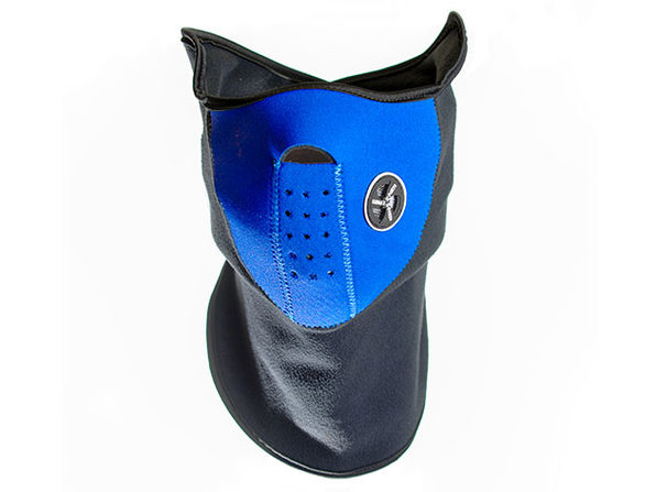 Neoprene/Fleece Neck & Face Mask (Blue)