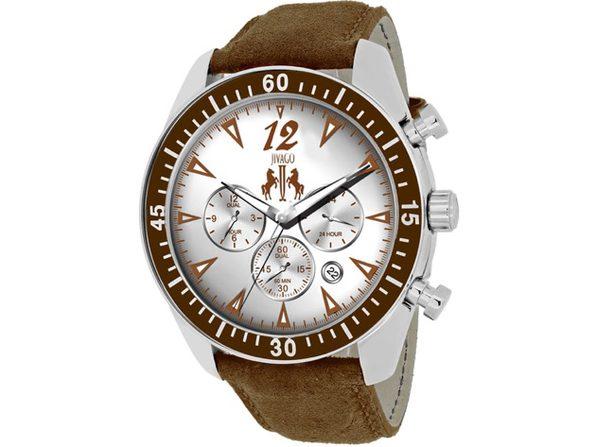 Jivago Men's Timeless Silver Dial Watch - JV4512
