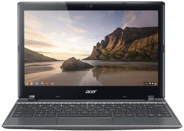"Acer C720-2103 11"" Chromebook, 1.4GHz Intel Celeron, 2GB RAM, 16GB SSD, Chrome (Renewed)"