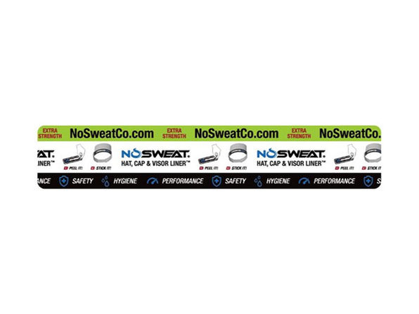 NoSweat® Visor Liners: 12-Pack