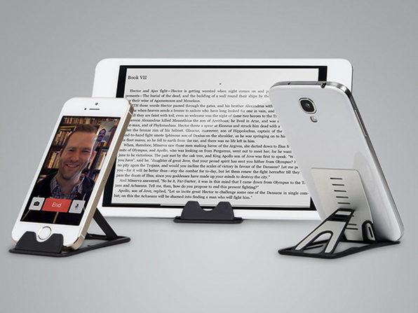 Credit Card Sized Smartphone & Tablet Stand: 3-Pack