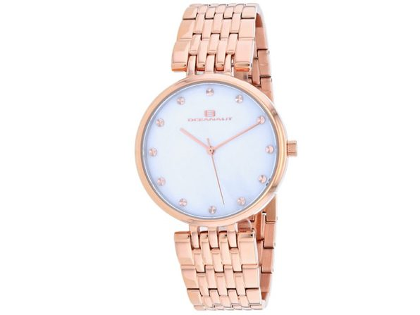 Oceanaut Women's Aerglo Mother of Pearl Dial Watch - OC2203 - Product Image