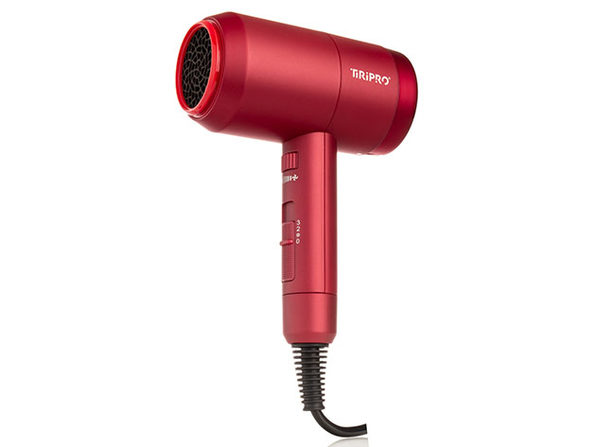 Prisma Pro Dryer with Adjustable Airflow Technology Red