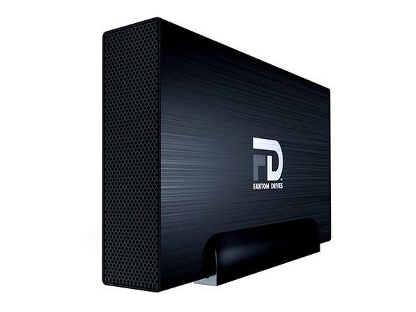 GForce 3 Professional 7200RPM USB 3.0/eSATA External HDD (Black/8TB)