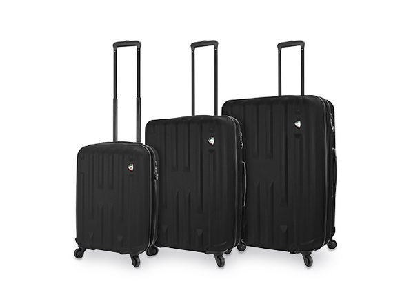 Mia Toro 3-Piece Nuovo Hardside Spinner Luggage Set