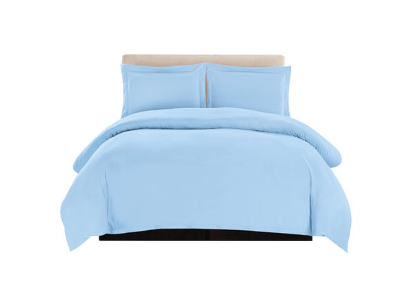 Lux Decor Collection 3-Piece Blue Duvet Cover Set (King/Cal King)