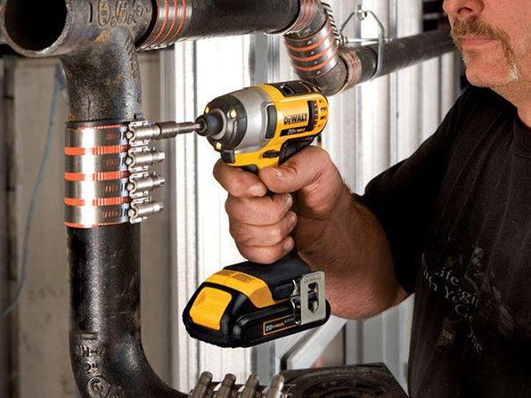 DeWalt 20V Compact Hammer Drill Impact Driver Kit Drill Bit Set