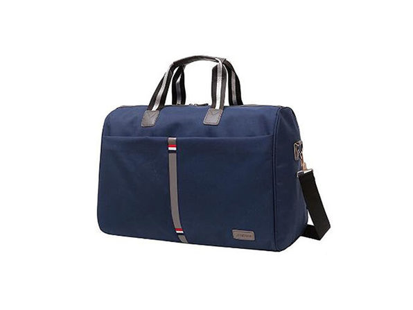 Travel Tote Crossbody Carry-On Bag with Shoulder Strap (Navy Blue)