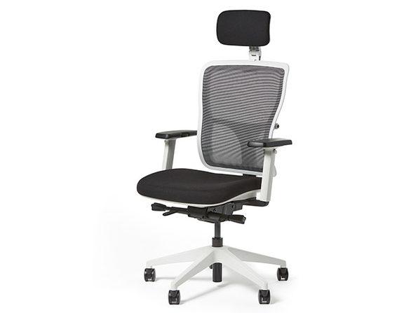 Yaasa Ergonomic Office Chair (White)