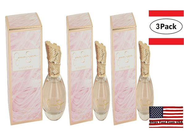 3 Pack Jessica Simpson Signature 10th Anniversary by Jessica Simpson Eau De Parfum Spray 1 oz for Women - Product Image