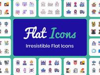 Flat Icons Bundle: Lifetime Subscription - Product Image