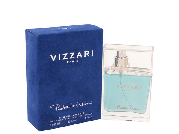 Vizzari by Roberto Vizzari Eau De Toilette Spray 2 oz for Men (Package of 2)