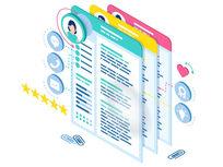 100 Premium Résumé & Cover Letter Templates by Résumé Inventor - Product Image