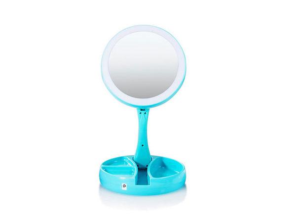 My Foldaway Mirror Blue - Product Image