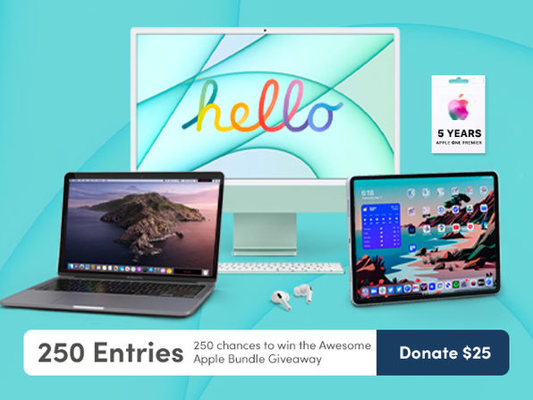 Donate $25 for 250 Entries - Product Image