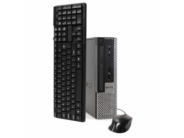 Dell 790 Desktop PC, 3.2 GHz Intel i5 Quad Core Gen 2, 16GB DDR3 RAM, 1TB SATA HD, Windows 10 Home 64 Bit (Refurbished Grade B)