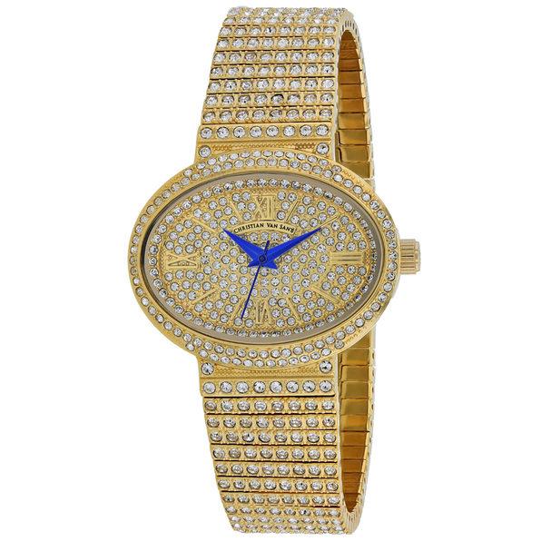 Christian Van Sant Women's Gold Dial Watch - CV0251 - Product Image