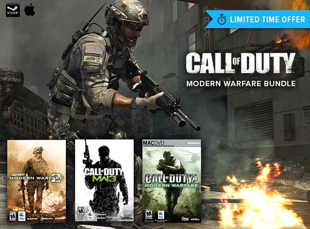 The Call of Duty: Modern Warfare Trilogy Bundle | StackSocial