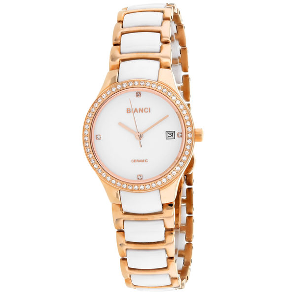 Roberto Bianci Women's Balbinus White Dial Watch - RB2953 - Product Image