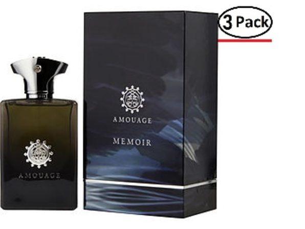 AMOUAGE MEMOIR by Amouage EAU DE PARFUM SPRAY 3.4 OZ for MEN ---(Package Of 3) - Product Image