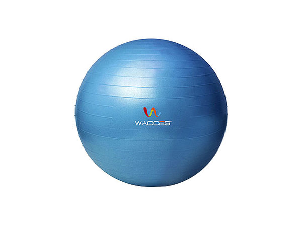 Wacces Anti-Burst Yoga Ball with Pump (Blue)