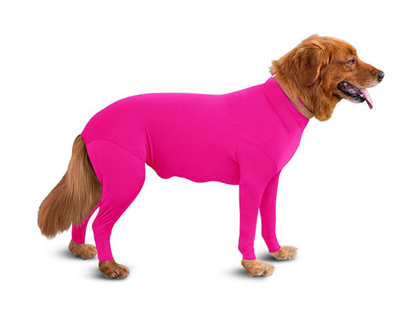 Shed Defender® Original: The World's First Onesie for Dogs (Hot Pink/S)