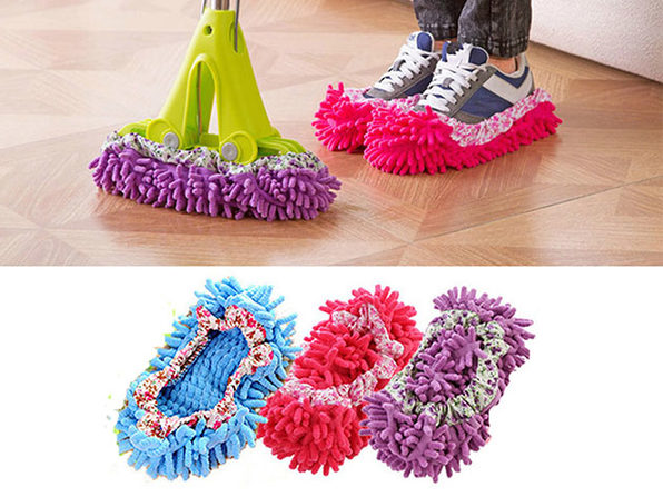 Lazy Maid Quick-Mop Slippers: 6-Pack