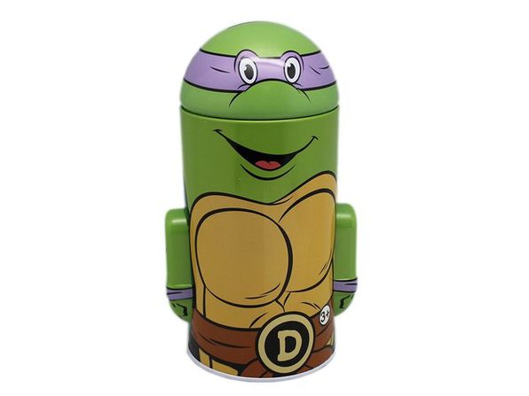 Teenage Mutant Ninja Turtles Donatello Tin Coin Bank