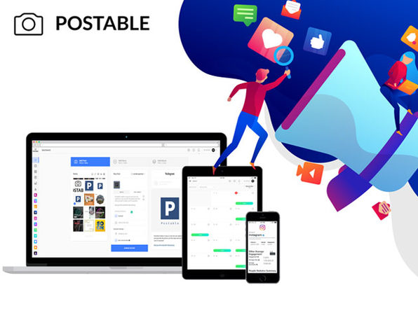 Postable Instagram Automation Charlie Plan: 1-Yr Subscription