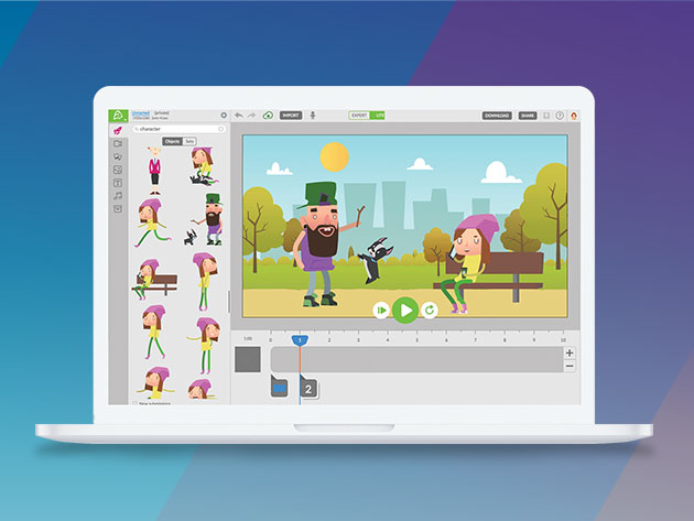 Animatron Studio Pro Plan: Lifetime Subscription