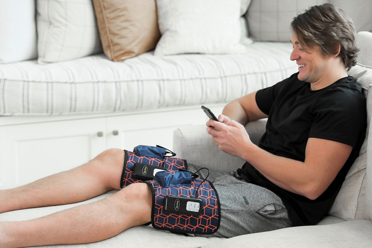 AirOsageCordless & Portable Air Leg-Arm Massager, on sale for $67.99 when you use coupon code BFSAVE20 at checkout