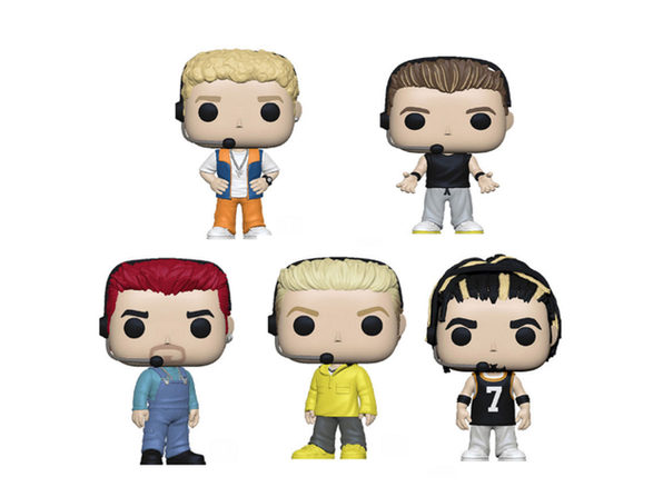 NSYNC Funko Pop - Bundle of 5 - Product Image