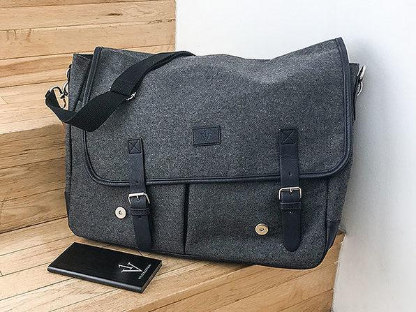 1Voice 10,000mAh Charging Messenger Bags