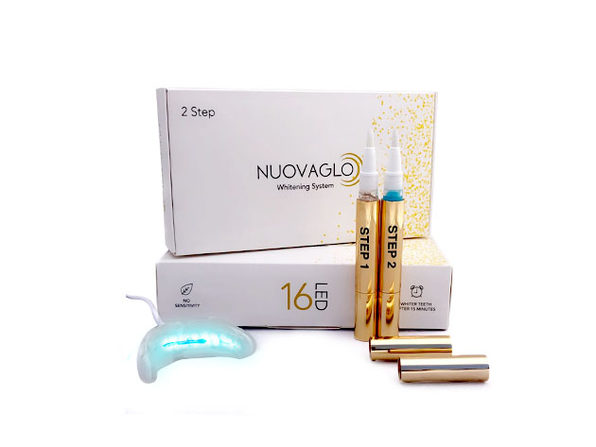 Nuovaglo 2-Step LED Teeth Whitening System