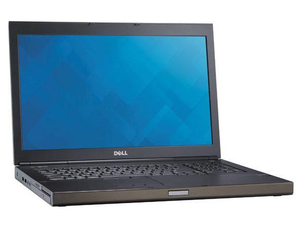 "Dell Percision M6800 17"" Laptop, 2.8GHz Intel i7 Quad Core Gen 4, 16GB RAM, 500GB SSD, Windows 10 Professional 64 Bit (Grade B)"