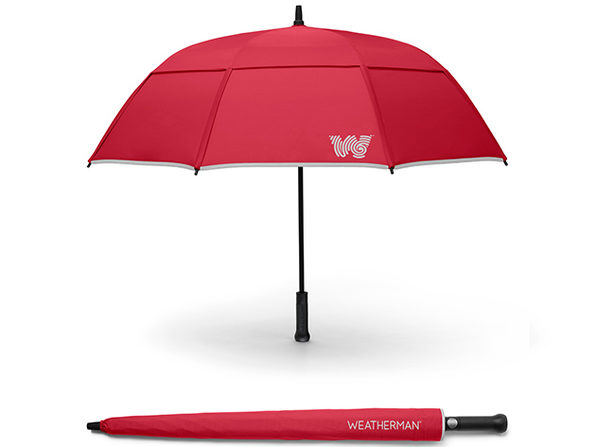 The Stick Umbrella (Red)