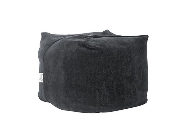 Loungie® Magic Pouf 3-in-1 Convertible Bean Bag (Black)