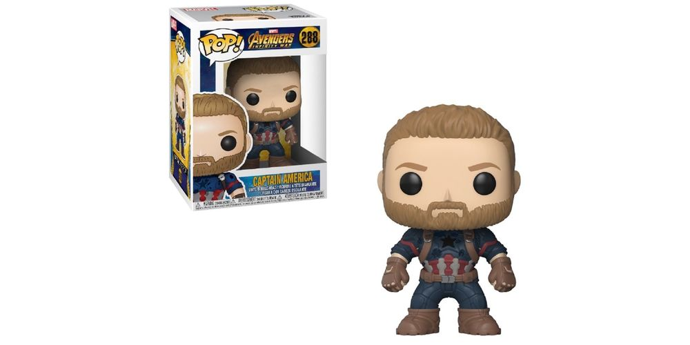 Funko POP – Infinity War – Captain America – Vinyl Collectible Figure, on sale for $14.94 (9% off)
